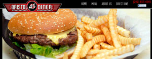 bristol 45 diner website